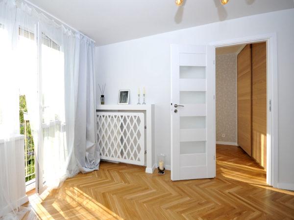 Osłona na grzejnik Diament apartament w Warszawie