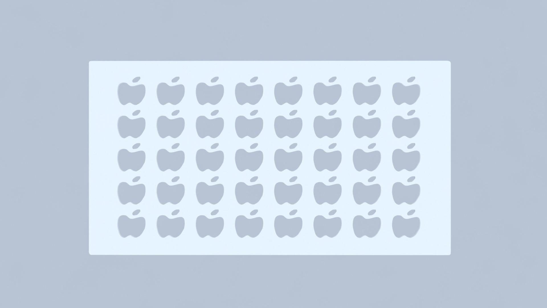 Osłona na grzejnik Jabłko